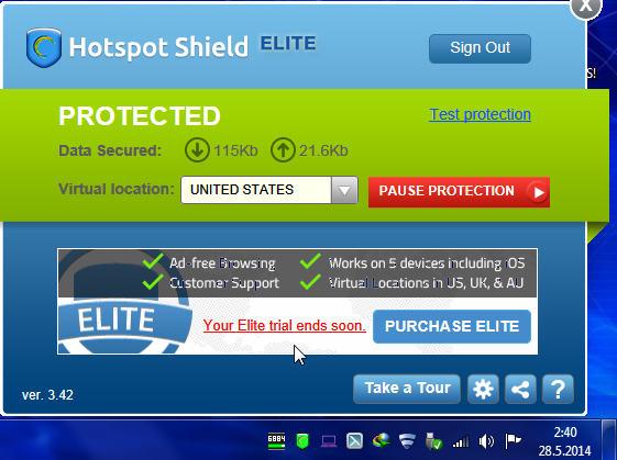 Hotspot Shield 7 15 1 | Encryption Software | FileEagle com