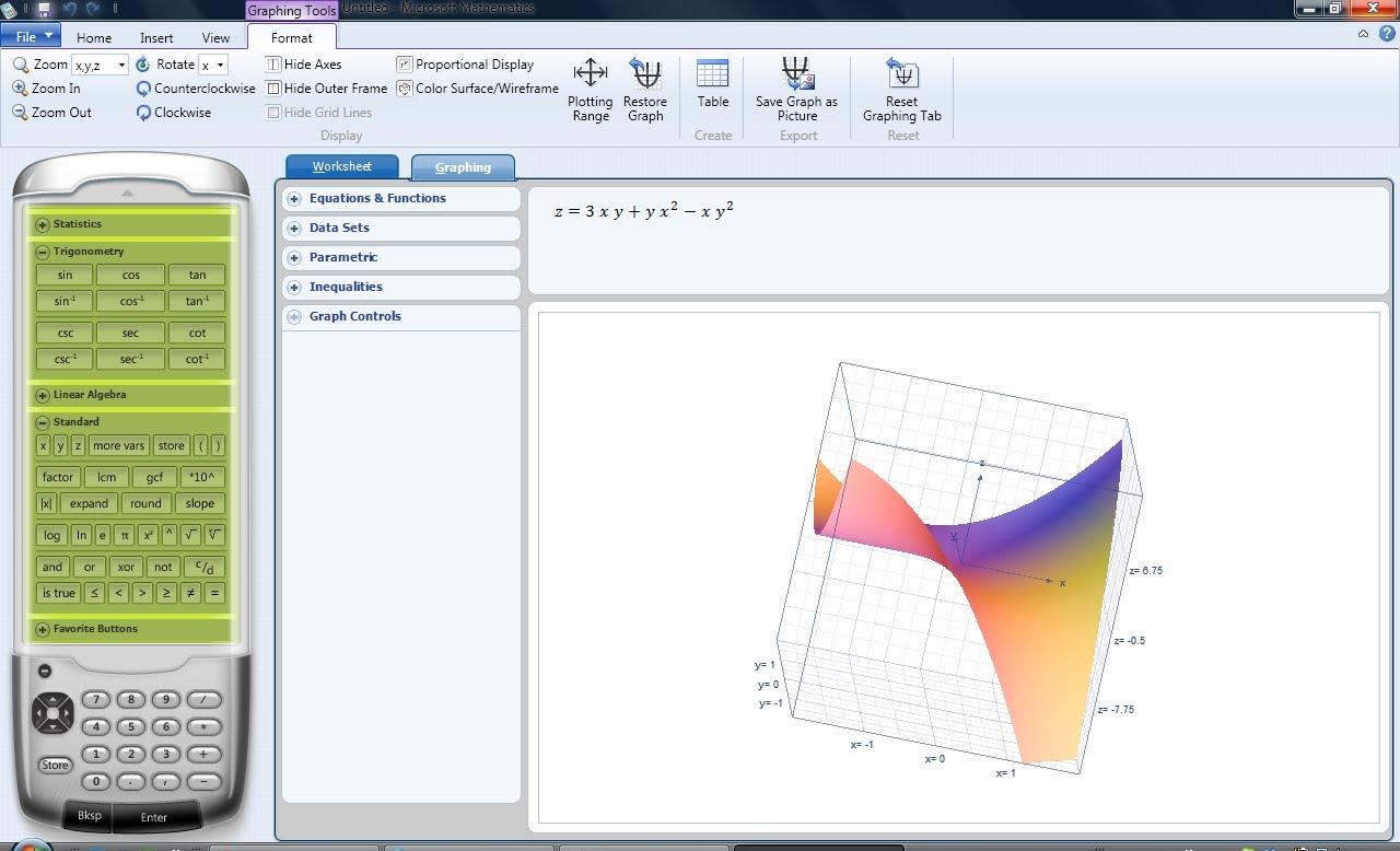 Microsoft Mathematics 4 0 Math Software Fileeagle Com