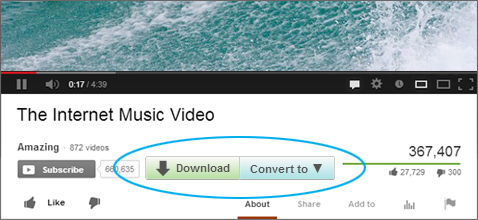 how to download from youtube usaing idm