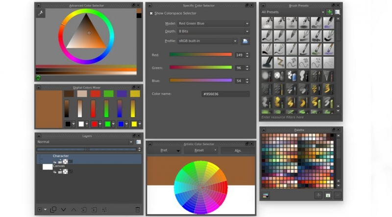 Layer and Color Management