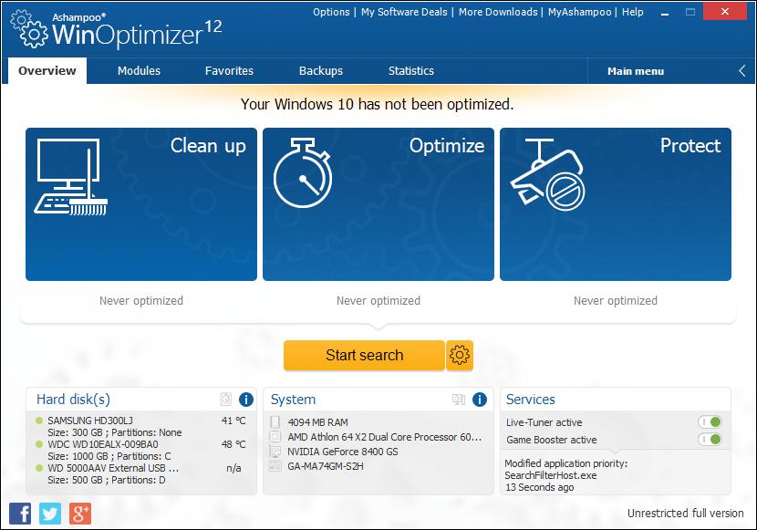 winoptimizer 2018 free download