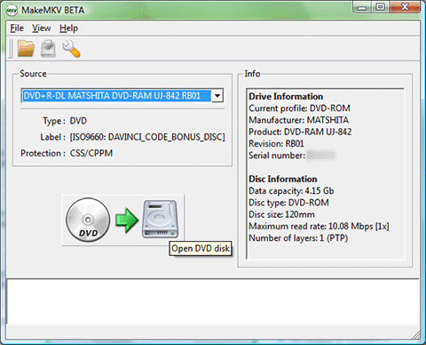 how to open disc image file