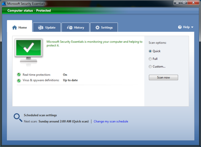 Microsoft Security Essentials 4 10 Antivirus Software