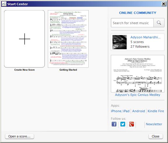 WatFile.com Download Free MuseScore 2 0 3 | Music Software | FileEagle