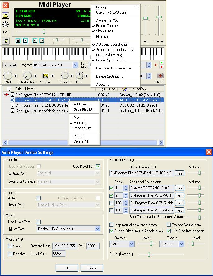 Soundfont Midi Player 5 6 | Media Players | FileEagle com