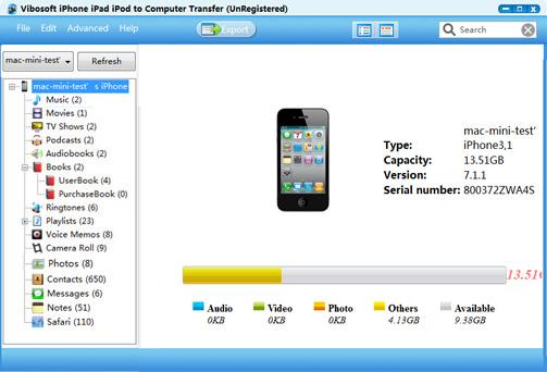 WatFile.com Download Free Vibosoft iPhone iPad iPod to Computer Transfer 2 1 36 | iTunes