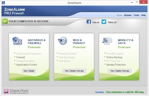 Zonealarm Pro Firewall 2018 Firewall Software