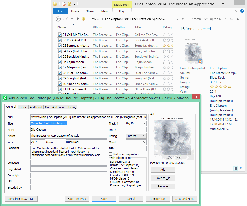 how to add id3 tags to mp3 files mac