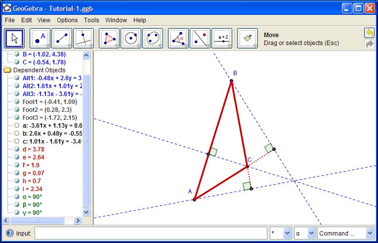 A Geometric Construction