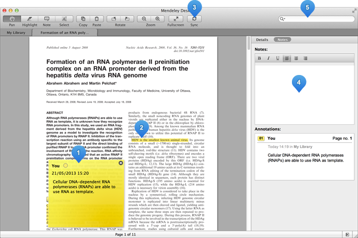 The PDF Reader View