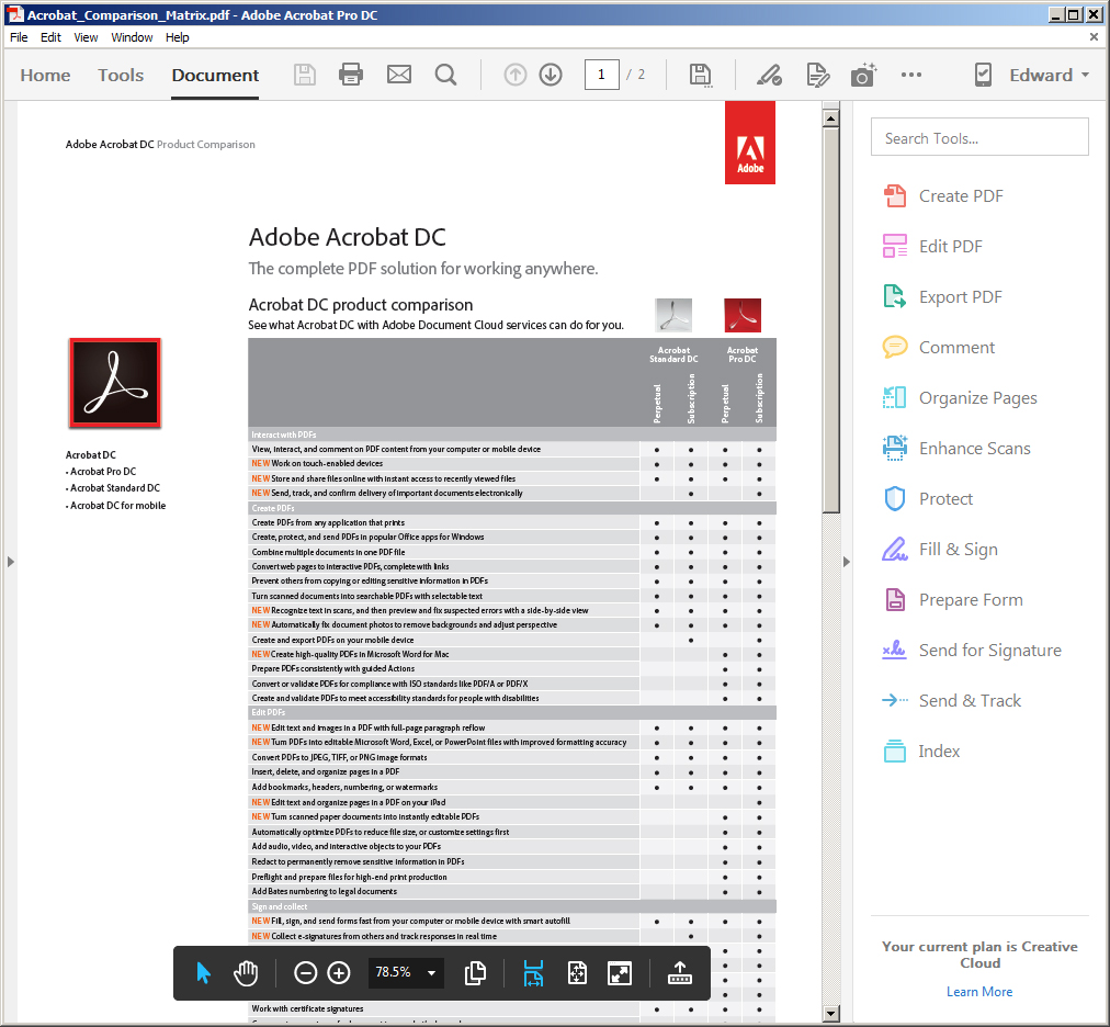 Adobe Acrobat Pro DC | PDF Software | FileEagle com