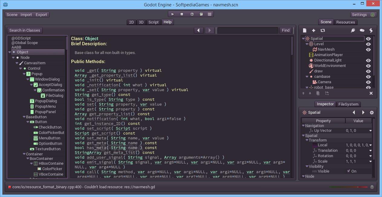 Godot Engine 1 1   Games Utilities & Editors   FileEagle com