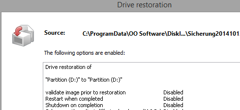 Quick and easy system restore – even onto different hardware