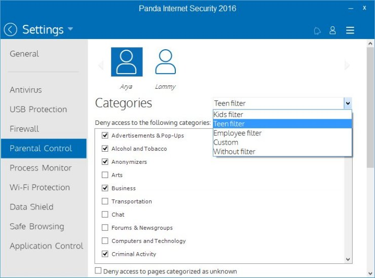 Panda Internet Security 2016 Antivirus Software