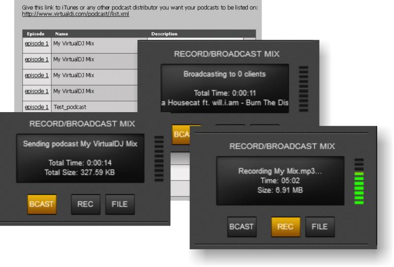 Recording & broadcasting