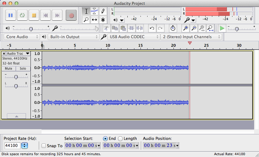 Audacity 2 3 1 | Audio Production & Recording Software