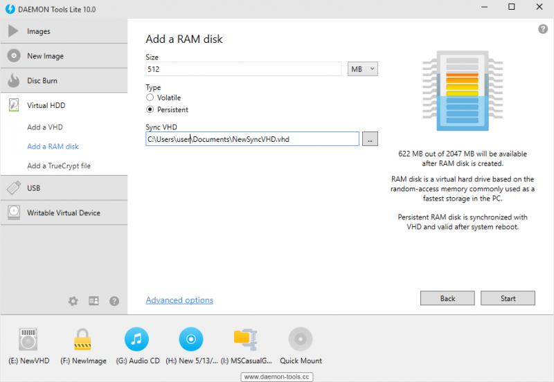 Add a RAM disk