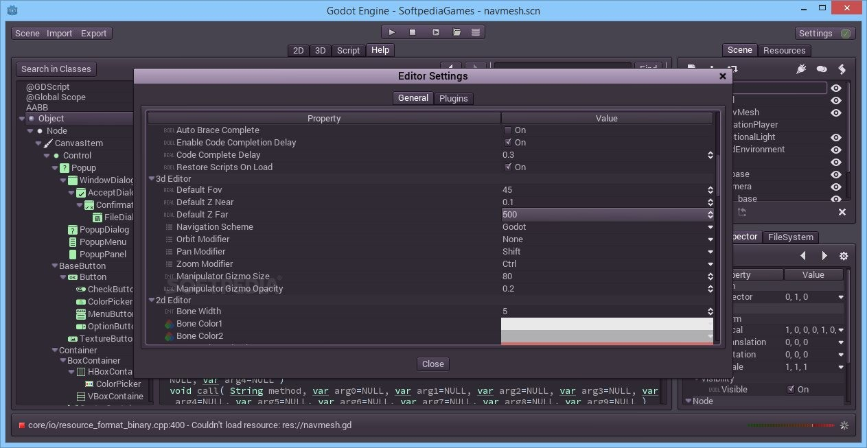 Godot Engine 1 1 | Games Utilities & Editors | FileEagle com