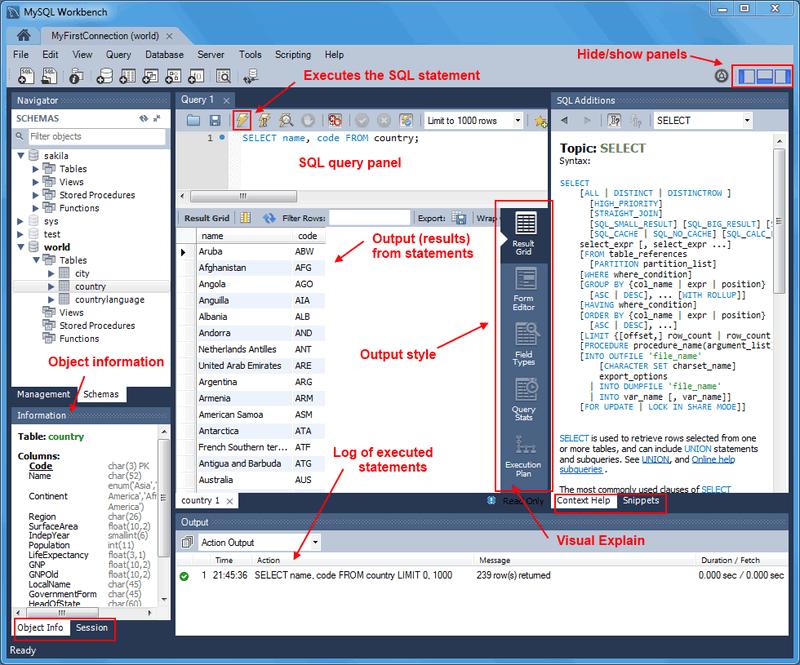 Event scheduler mysql workbench download