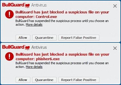 Suspicious Files Blocked