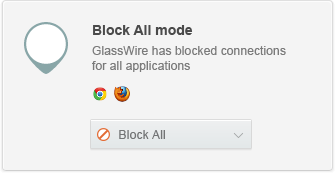 Wouldn't you feel better if you could block all network connectivity while you're away?