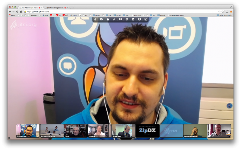 Web Conferences with JitMeet, Jitsi Videobridge and WebRTC!