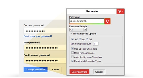 Generate Long, Strong Passwords