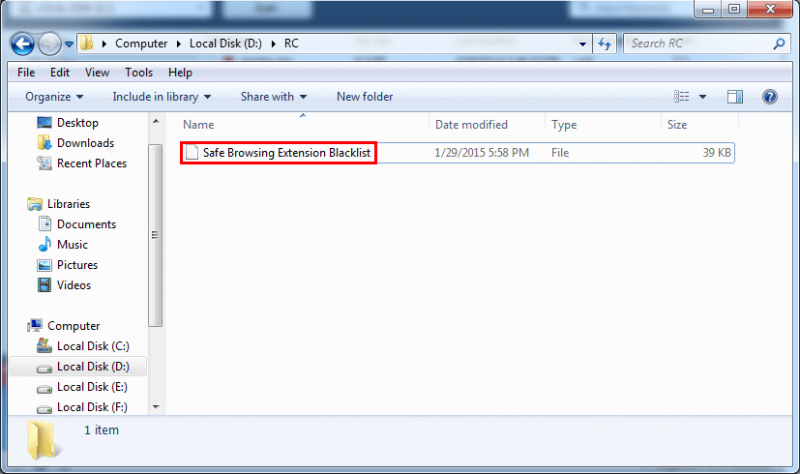 The program will show the detailed files in the recovered folder.