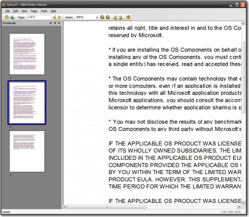 PCL XL file
