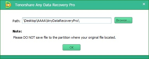 Recover and Save Lost Data