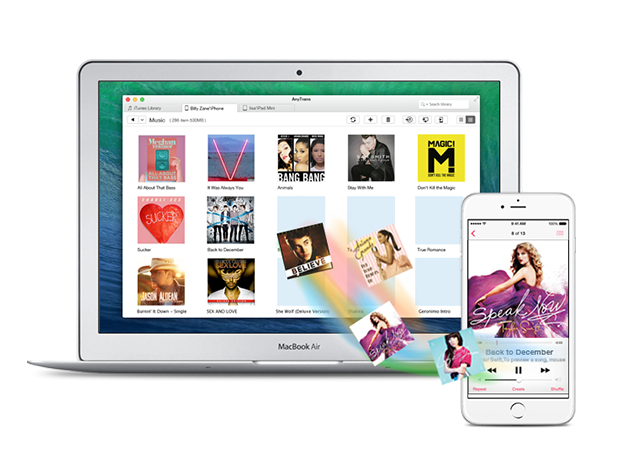 Transfer music from iPhone, iPad, iPod to computer and vice versa