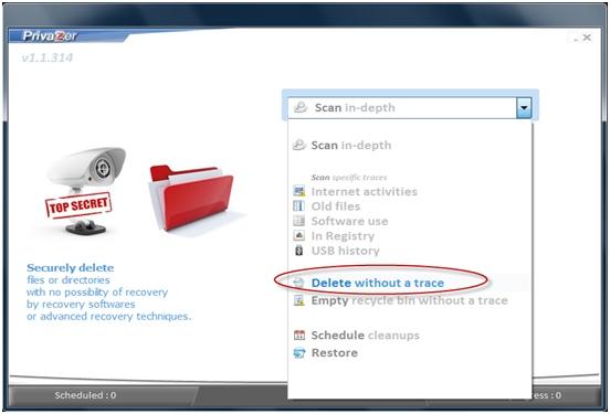 Delete sensitive directories
