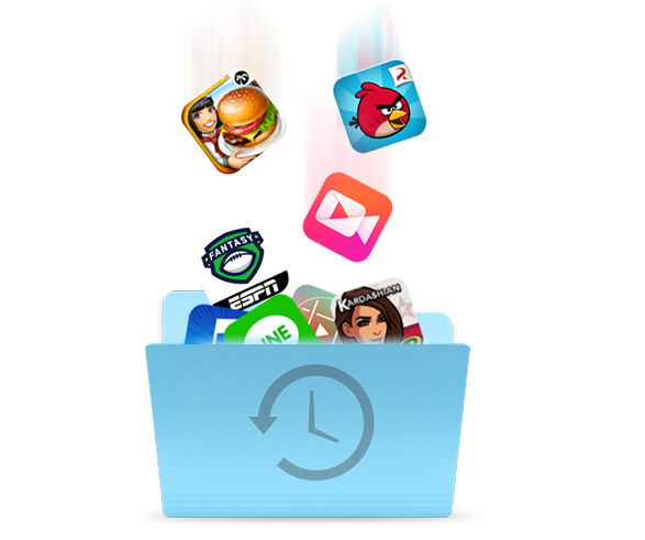 Backup your favorite apps to computer or iTunes