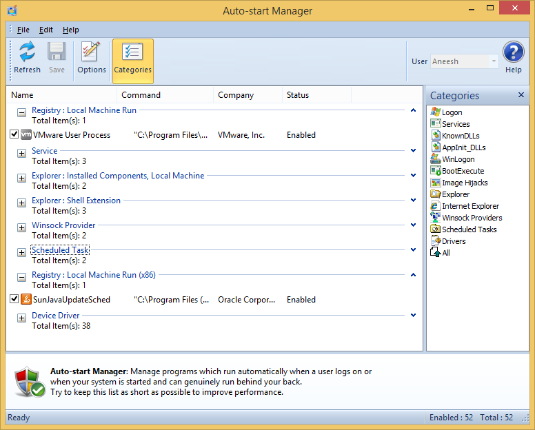 Auto-start Manager