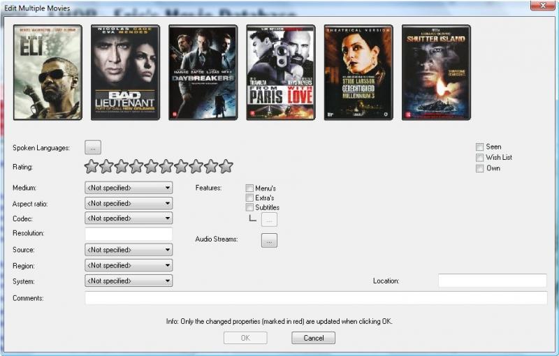Multiple Movie Edit