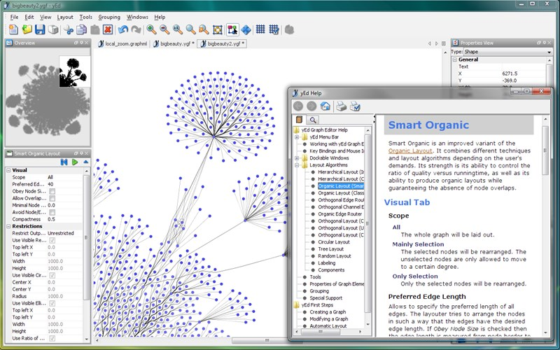 yed graph editor 3 19