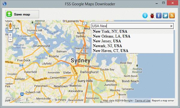 Fss Google Maps Downloader  2 Map Software