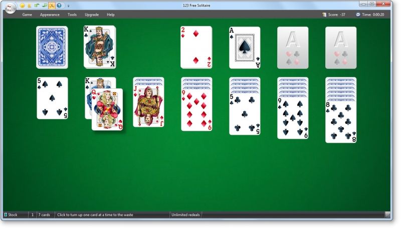 Solitaire online eagle 123 free solitaire 10 2 cw production