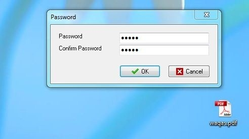 Enter password to open file