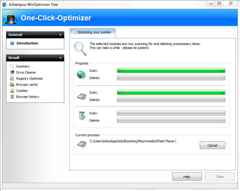 One Click Optimizer