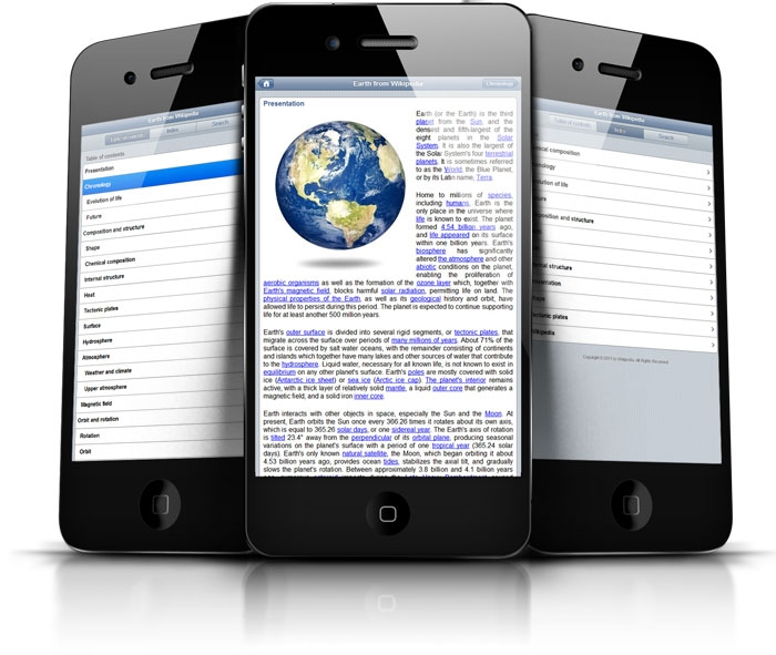 Generate complete iPhone websites and documentation pages