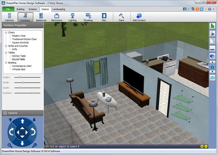 Arrange Furniture and Decor