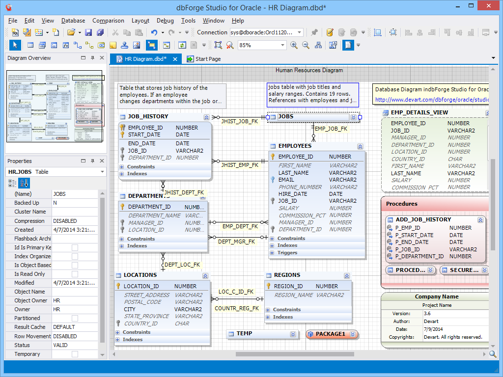 dbforge studio for oracle 3 9