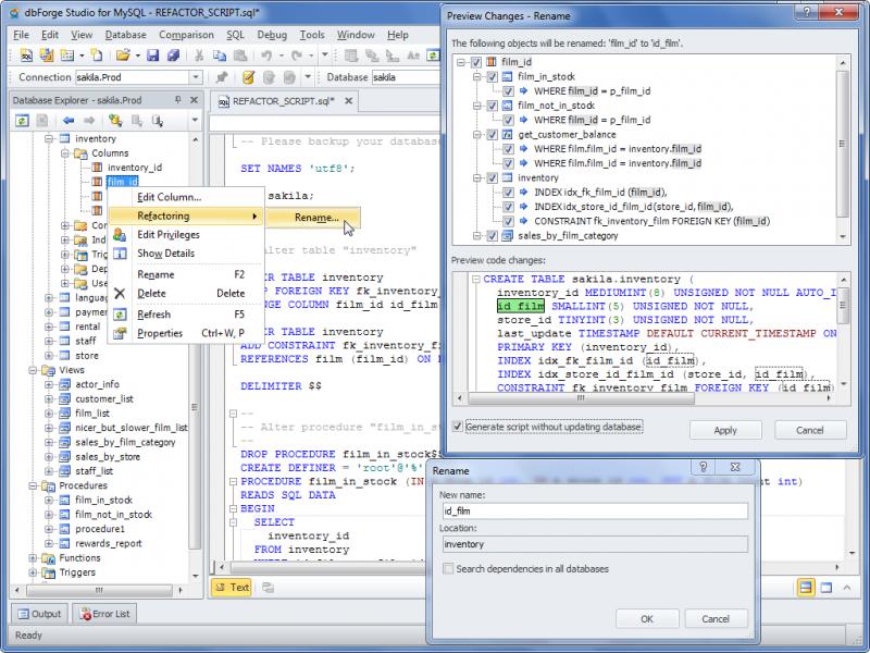 Database Refactoring