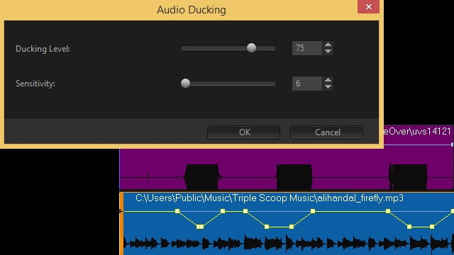 Audio Ducking