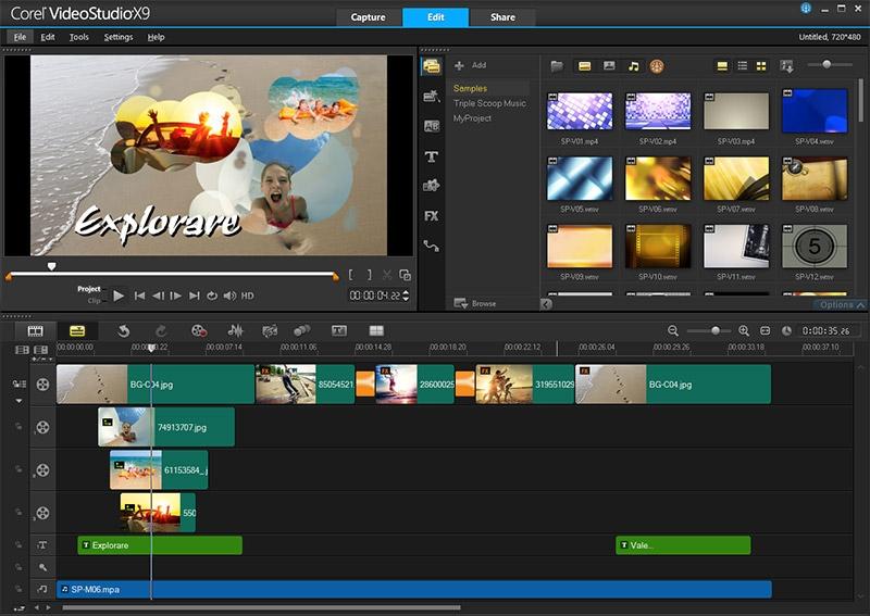 FastFlick template creation