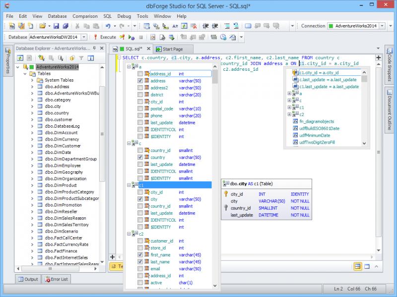 SQL Coding Assistance
