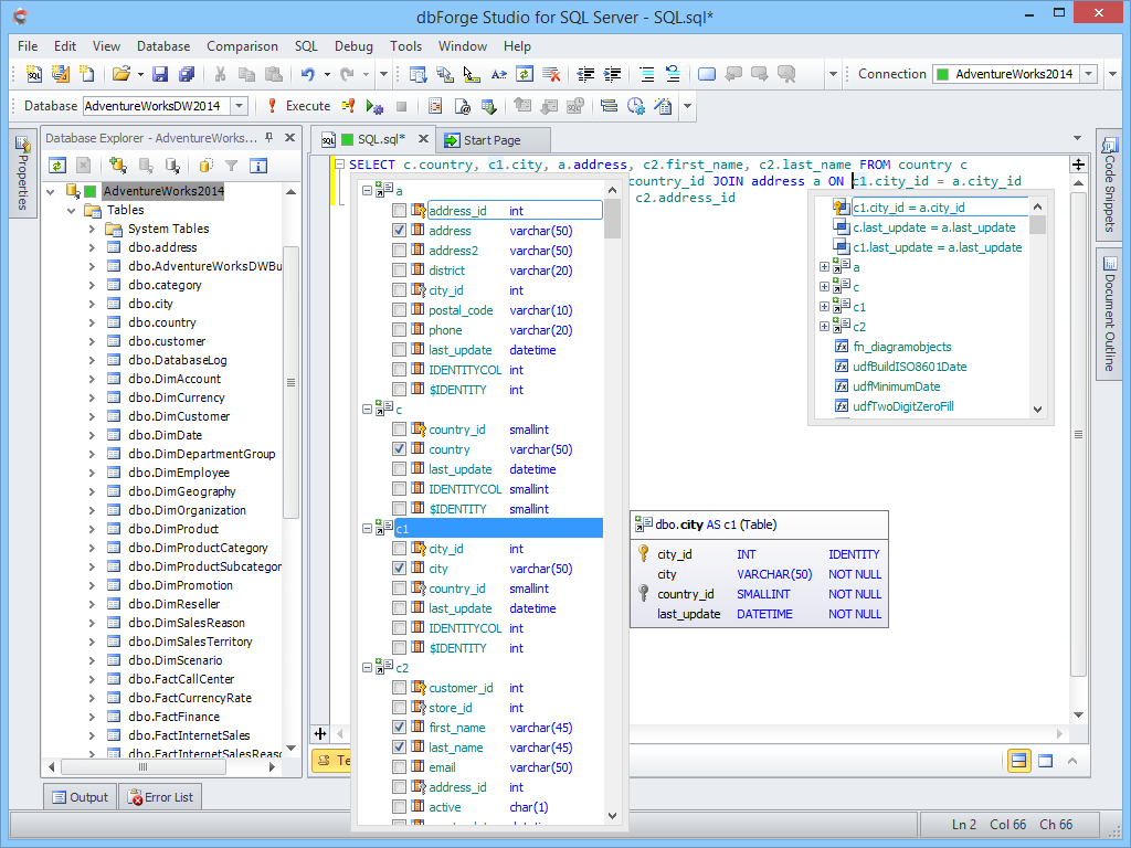 Dbforge Studio For Sql Server 5 7