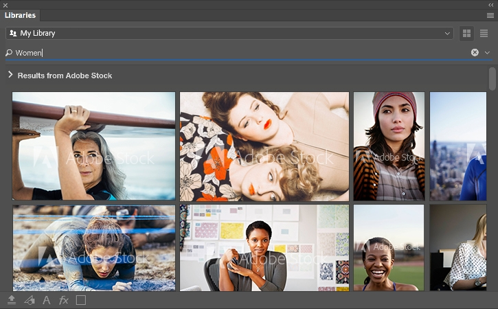 Use Adobe Stock with Creative Cloud Libraries