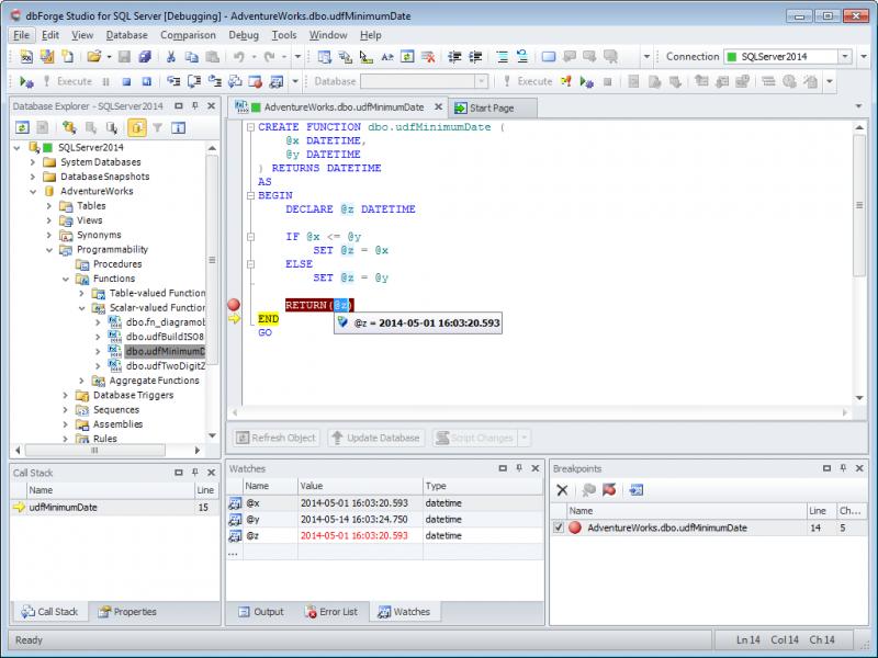 T-SQL Debugger